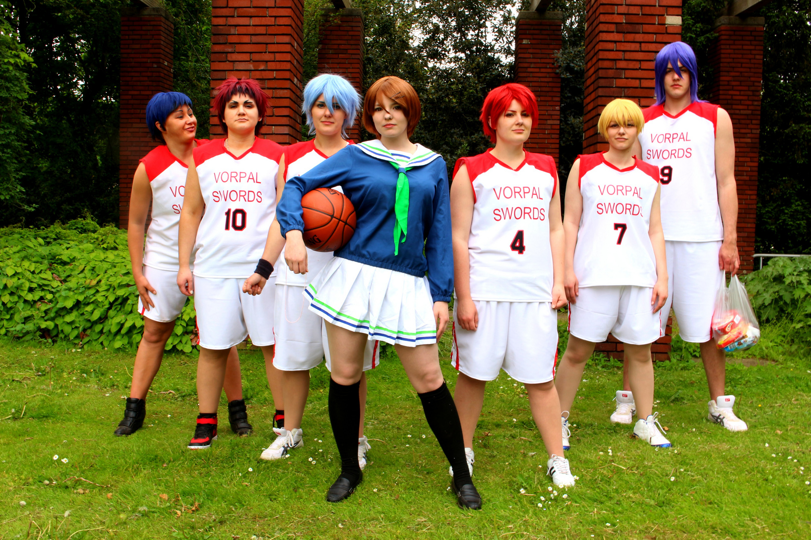 team vorpal swords kuroko no basuke foto bild szene cosplay