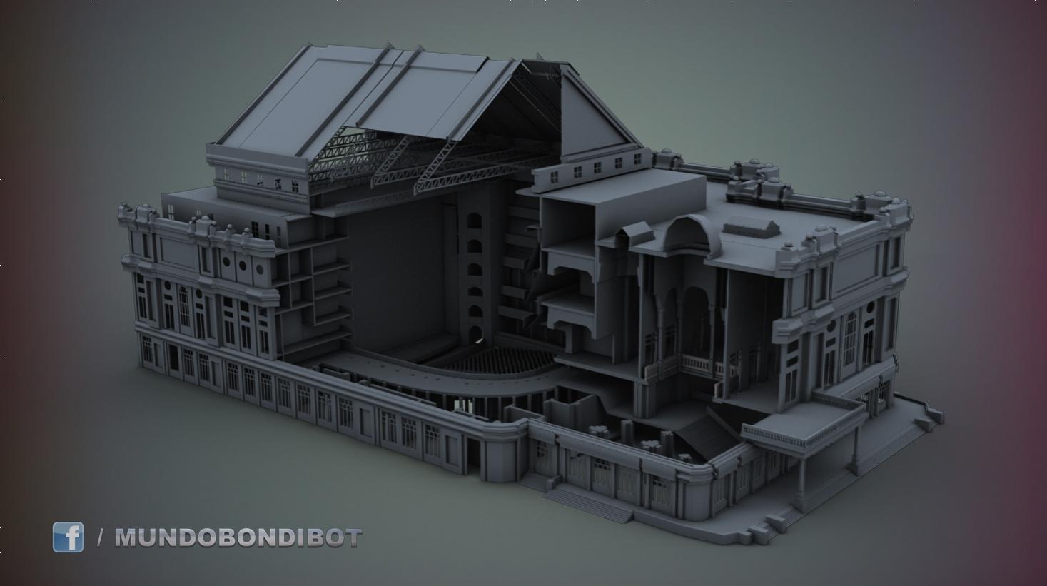 Teatro Colon 3d