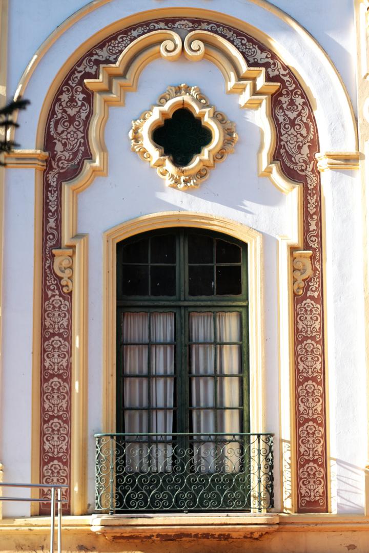 Teatro Lope de Vega, balcón lateral.