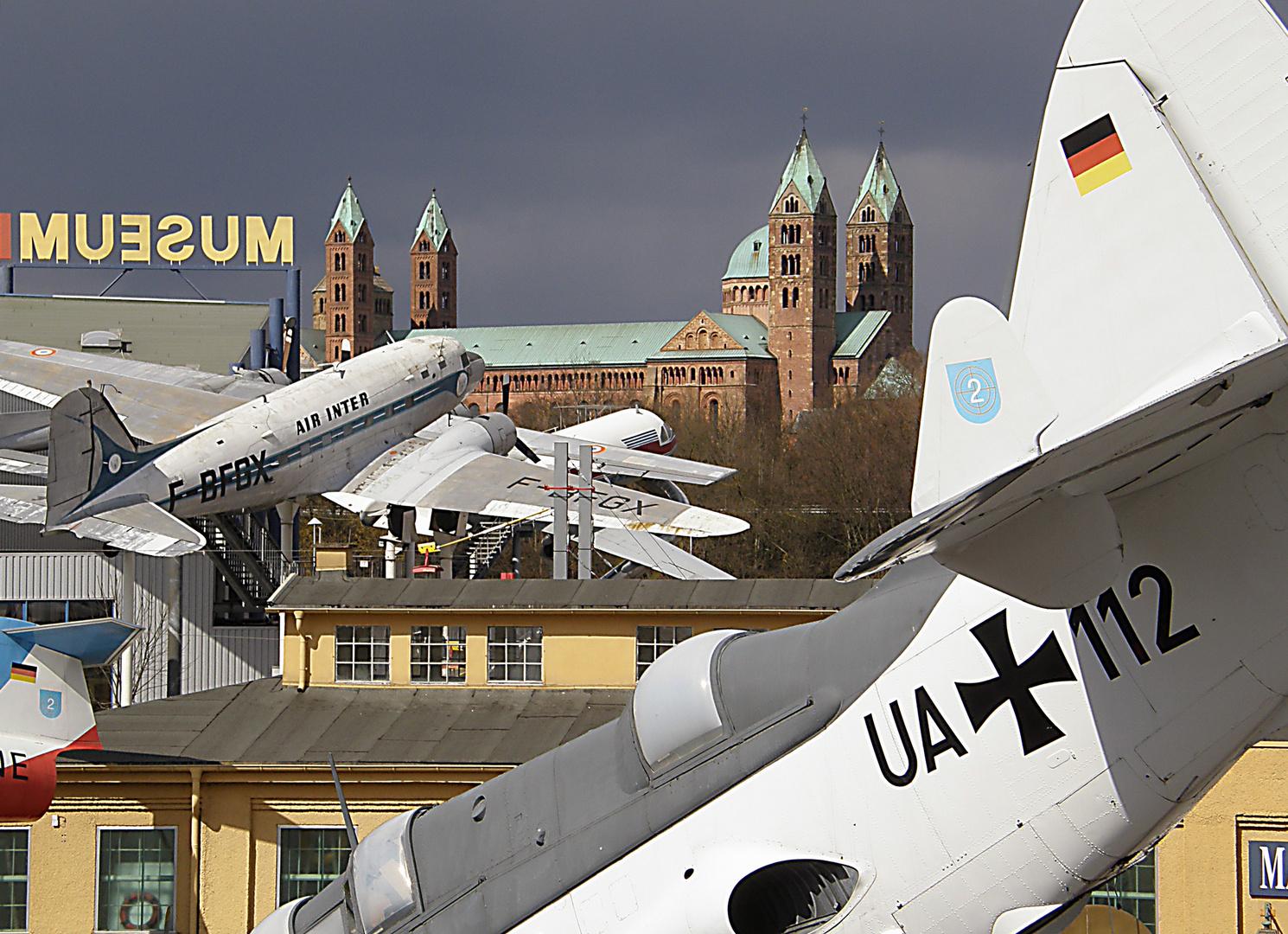 Technik Museum/Dom in Speyer