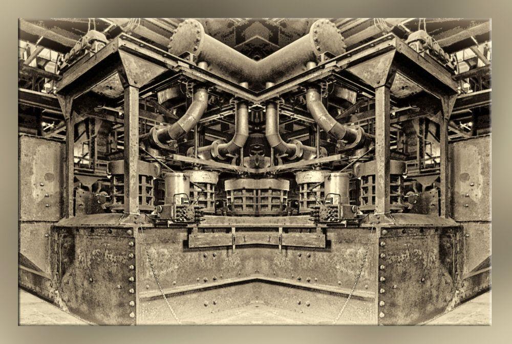 Technikdetail Zeche Zollverein, Essen