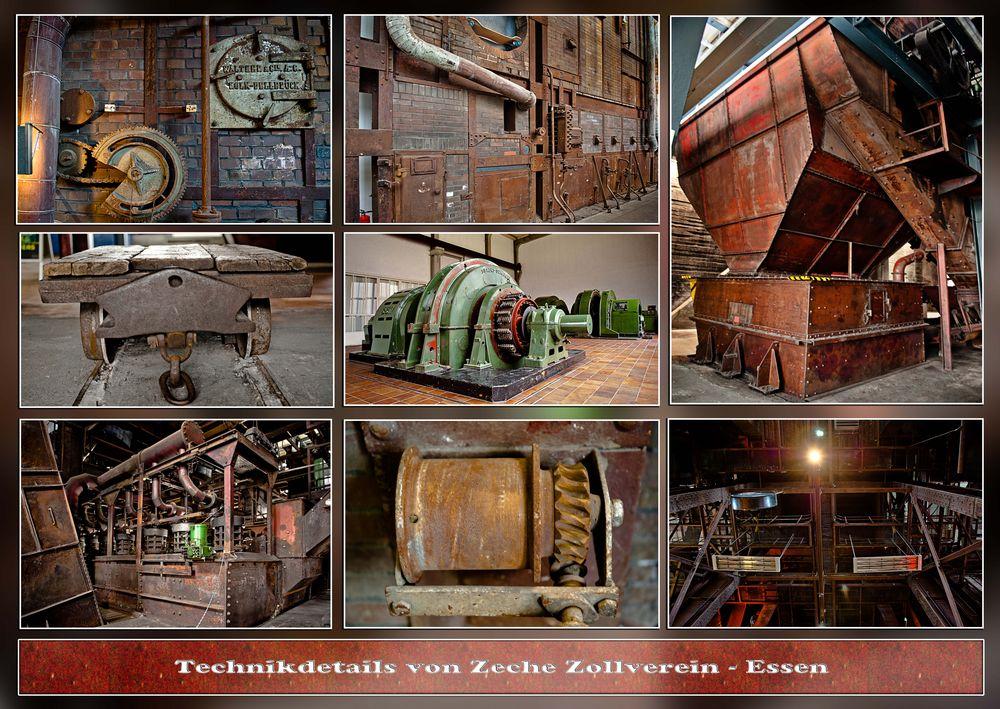 Technikdetails Zeche Zollverein, Essen