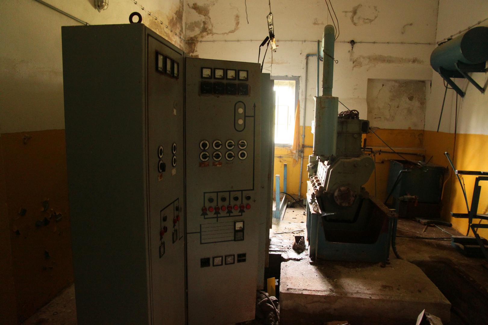 Technikraum Wasserwerk