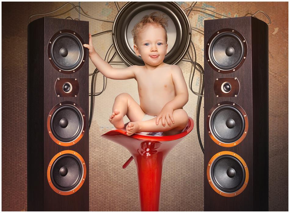 techno-baby
