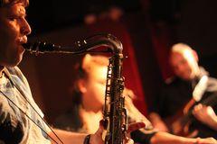 TECHNO JAZZ Stuttgart KISTE - Saxofonist Carsten Netz +FFT