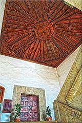 Techo de madera en La Orotava