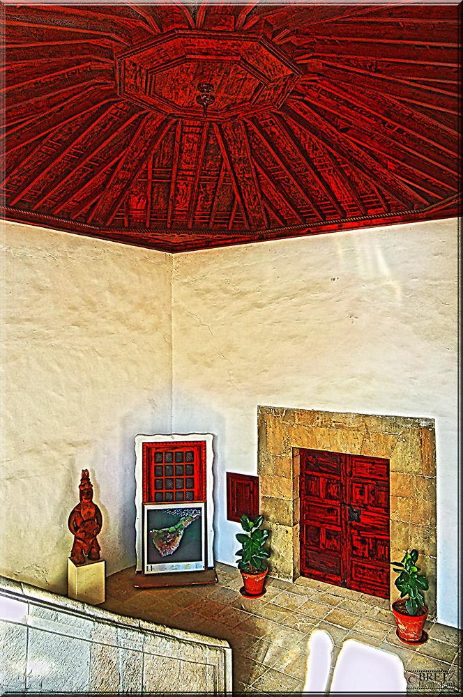 Techo de madera en La Orotava²