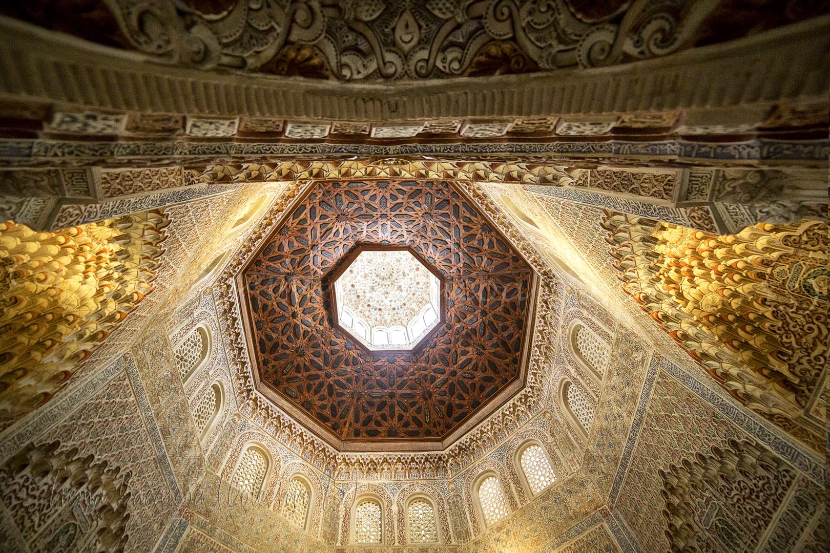 Techos de La Alhambra