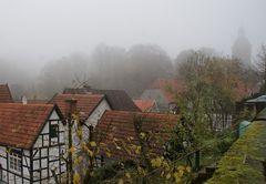 Tecklenburg im Nebel