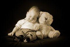 Teddy, bist du auch so müde?