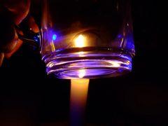 Teeglas ins rechte Licht gerückt
