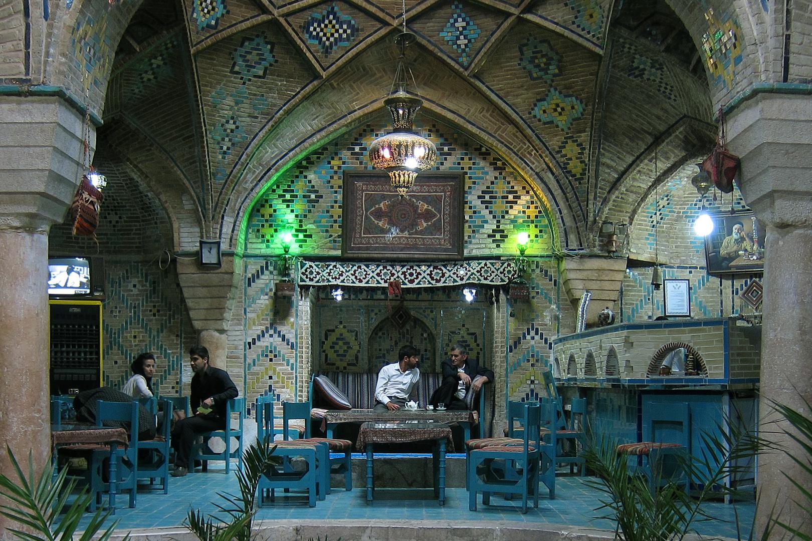 Teehaus in Kerman