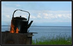 Teezeit am Baikal