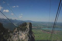 Tegelberg -aus der Gondel raus