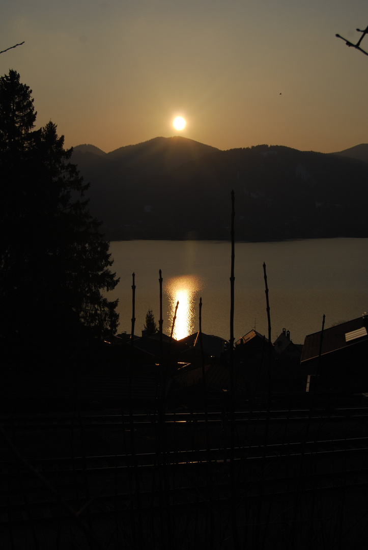 Tegernsee Sunset