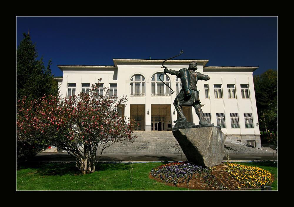 Teheran, Saadabad Palastmuseum, der Weiße Palast