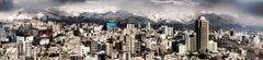 Tehran Snow Panorama