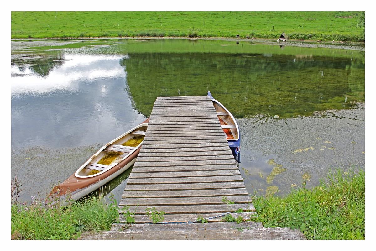 Teich in der Oberpfalz