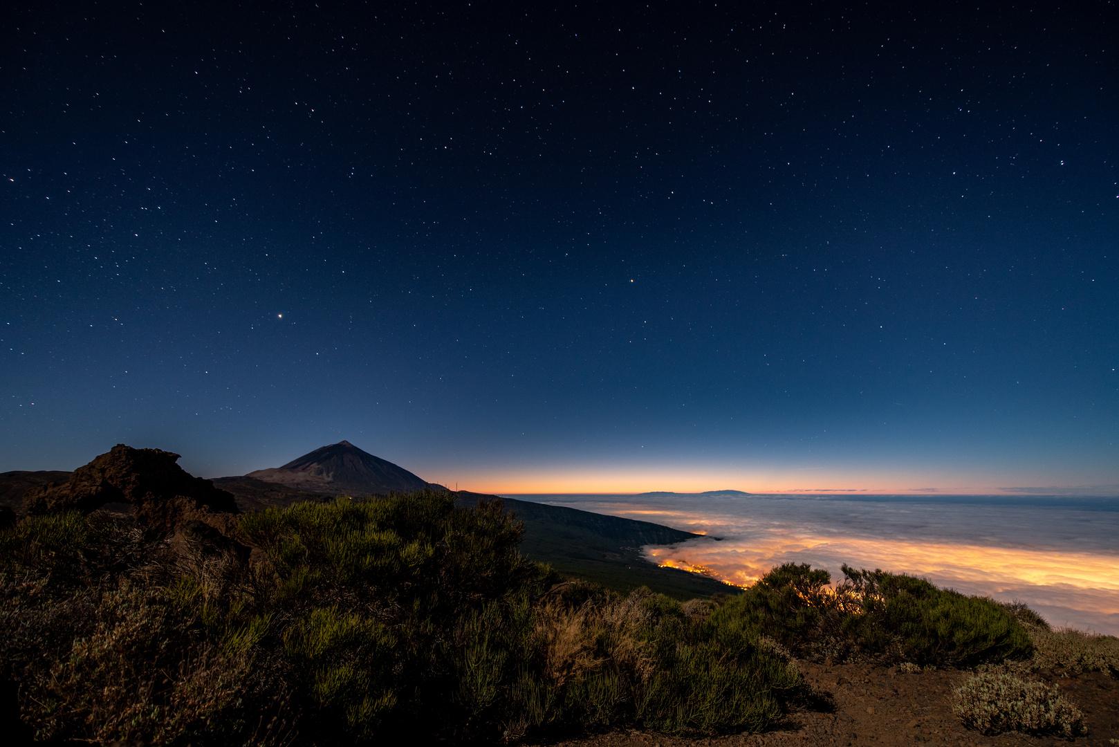 Teide at Night