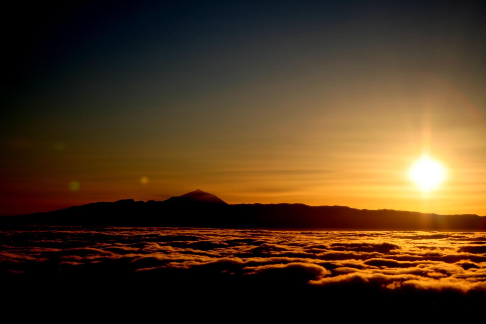 Teide, desde Gran Canaria