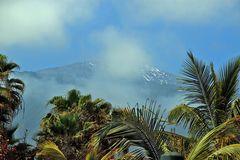 Teide in Wolken
