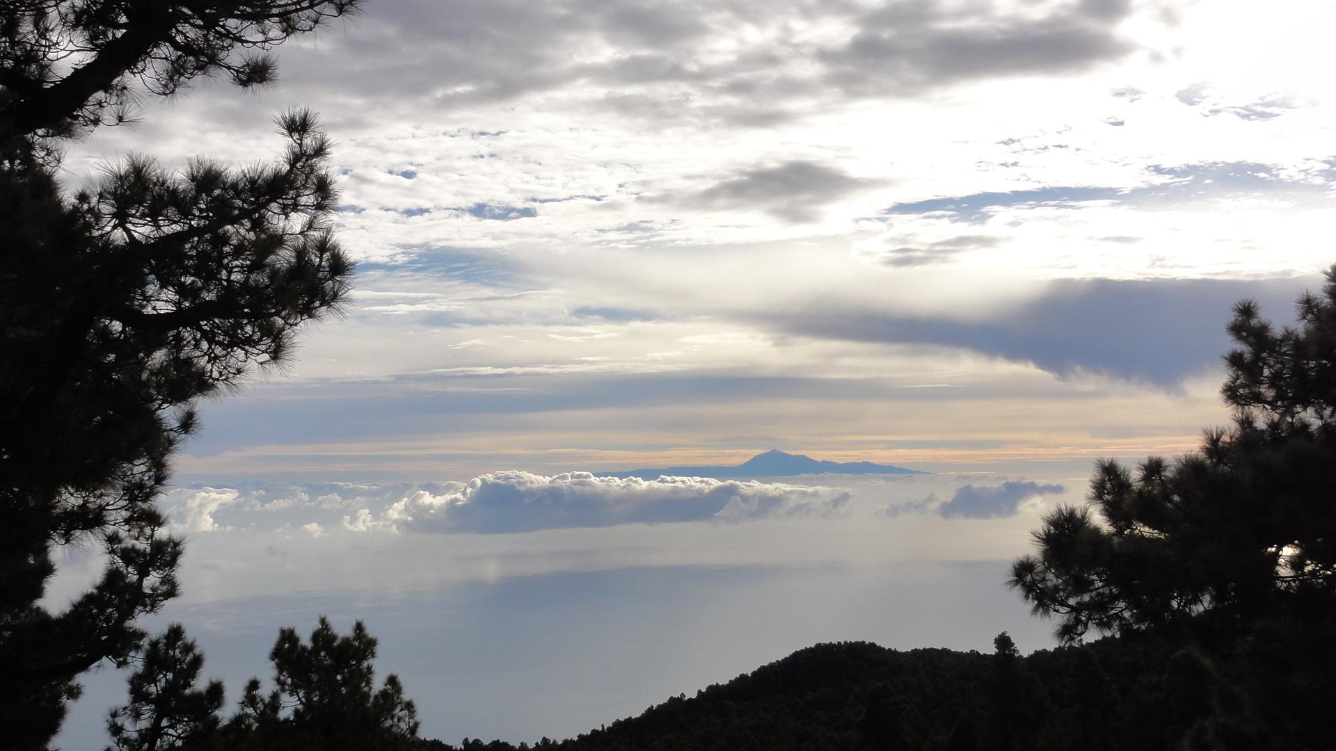 Teide seen from La Palma