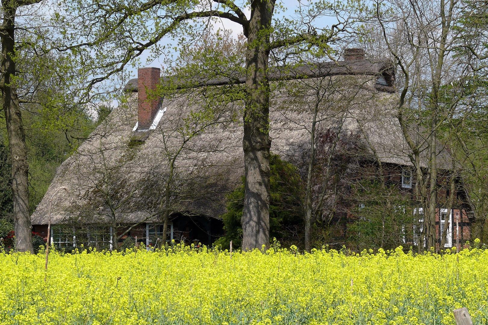 Teil -1- Altes bewahren u. wohnen ...... in Schiffdorf - Friedheim am 4 .4.2011