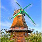 Teil -1-: Mühlen  -- Die Schiffdorfer Mühle (Gallerieholländer )