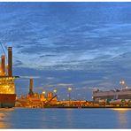 """Teil -12- : Maritime Arbeitswelten in Bremerhaven am 17.4.2014 """"Morgens um 5:41 Uhr im Hafen"""""""
