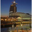 """Teil --13--: Havenwelten Bremerhaven am 1.10..2011 """"Lichtervielfalt u. Sonnenuntergang"""""""