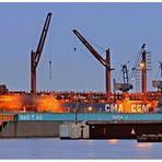 """Teil -13- :Maritime Arbeitswelten in Bremerhaven am 7.4.2013 """" Farben & Lichter ...."""""""
