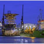 """Teil -14- :Maritime Arbeitswelten in Bremerhaven am 26.10.2014 """" Alles belegt & viel Arbeit ...."""""""