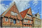 Teil -2 - Hansestadt Stade ...... Giebel in der Altstadt ....