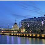 """Teil --22--: Havenwelten Bremerhaven am 2.1.2012 """"Faszination blaue Stunde ....... """""""