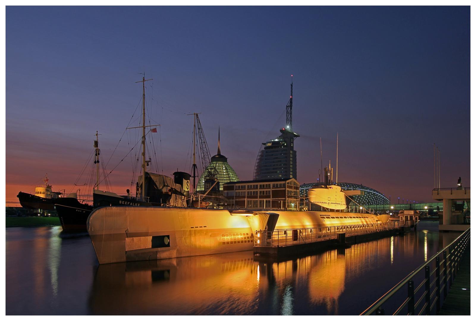 Teil --3--: Havenwelten Bremerhaven am 14.01.2012