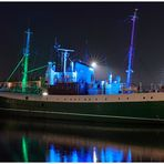 """Teil --32--: Hafenimpression Bremerhaven am 19.10.2016 """" Die GERA & Stadteilgeschichte """""""