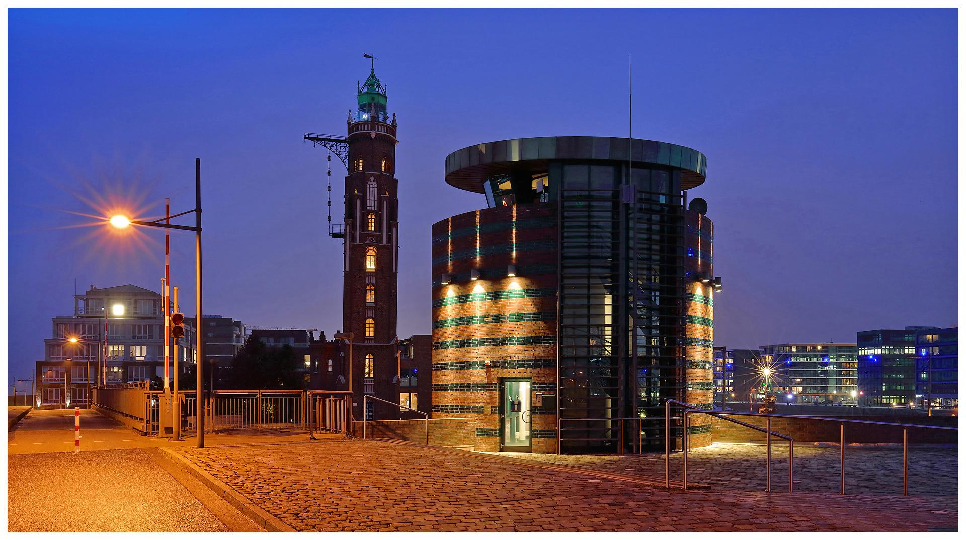 """Teil --39--: Havenwelten Bremerhaven am 22.2.2018 """"Lichter und Architektur"""