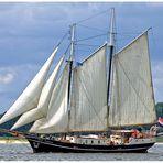 Teil - 5 - Impression Kieler Woche 2015 am 28.6. -- ABEL TASMAN ..... hoch am Wind --