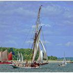 Teil - 6 - Impression Kieler Woche 2015 am 27.6. -- Gästefahrt bei optimalen Wetter--