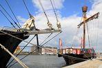 """Teil --9--: Havenwelten Bremerhaven am 16.07..2012 """"Maritimes u. wohnen am Deich"""""""