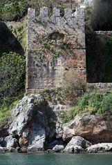 Teil der Burganlage von Alanya, Türkei
