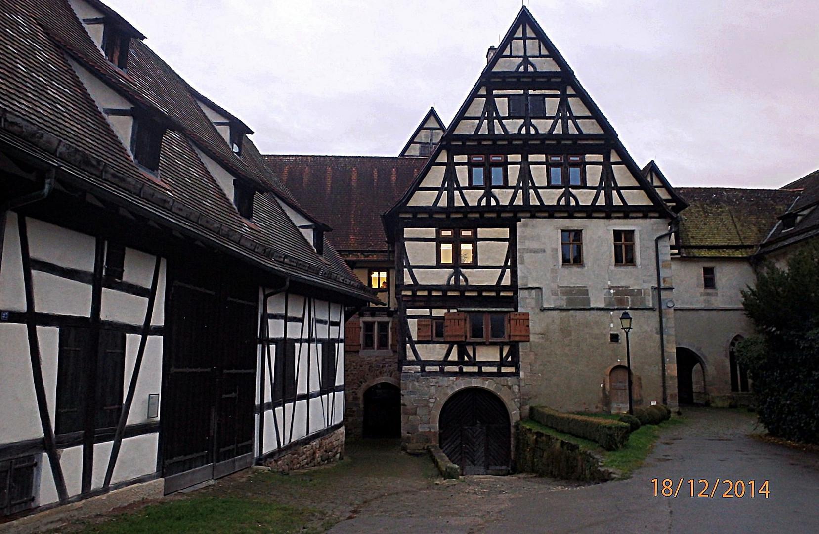 Teil der Klosteranlage Bebenhausen