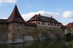 Teil der Stadtmauer von Weißenburg/Bayern