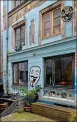 Teil des Kutscherhauses, Hamburg Gängeviertel