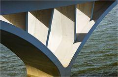 Teil einer Brücke