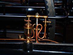 Teil einer Dampfmaschine