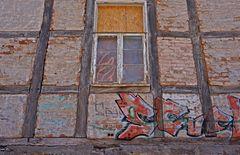 Teil einer Hausfassade