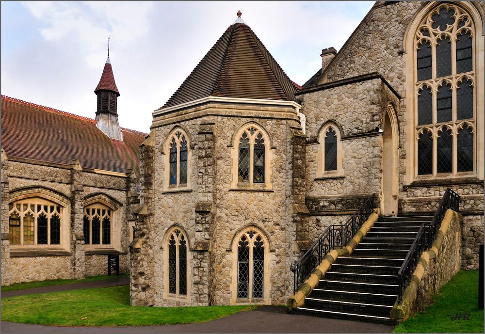 Teilansicht der Methodisten Church in Sutton