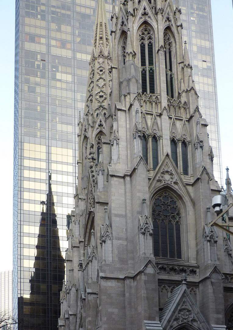 Teilansicht der St. Patricks Kathedrale
