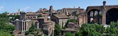 Teilansicht Forum Romanum